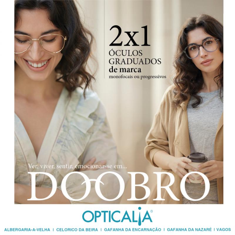 Campanha 2x1 Opticalia Vagos